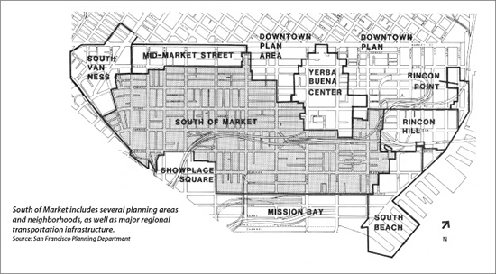 SOMA Planning Areas
