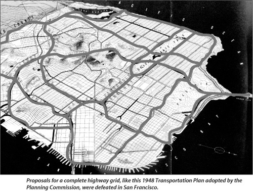 1948 Highway Grid Transportation Plan