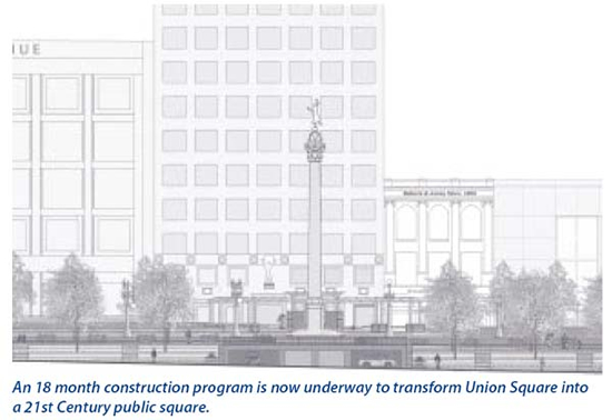 Union Square Transformation Plans
