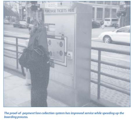 Proof-of-Payment Fare Collection System