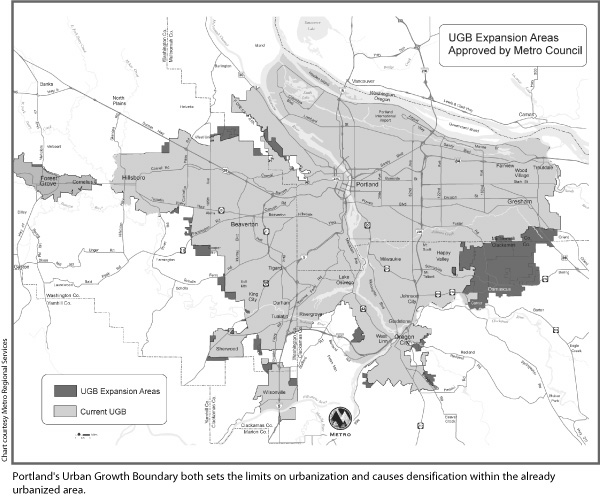 Case Study in Regional Planning Portlands Metro Council  SPUR