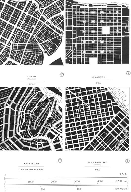 Grand reductions 10 diagrams that changed city planning spur Urban design vs urban planning