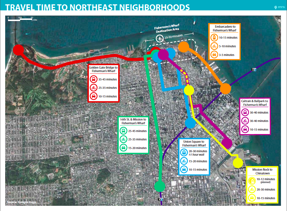 Fixing Transit in SFs Northeast Neighborhoods – San Francisco Tourist Map