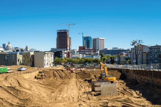 Urban Field Notes San Francisco S Construction Boom Spur