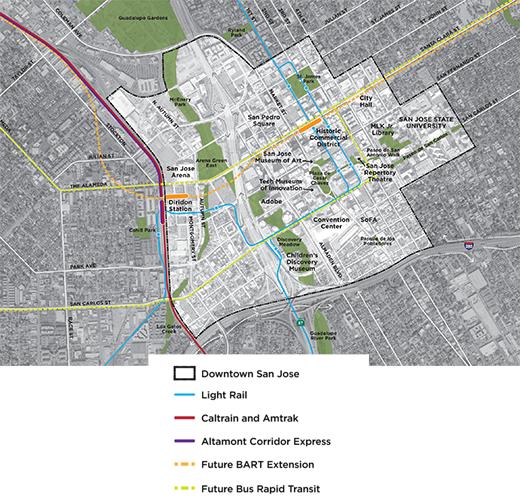 Transforming Downtown San Jose SPUR