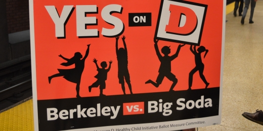 Yes on D Sign from Berkeley