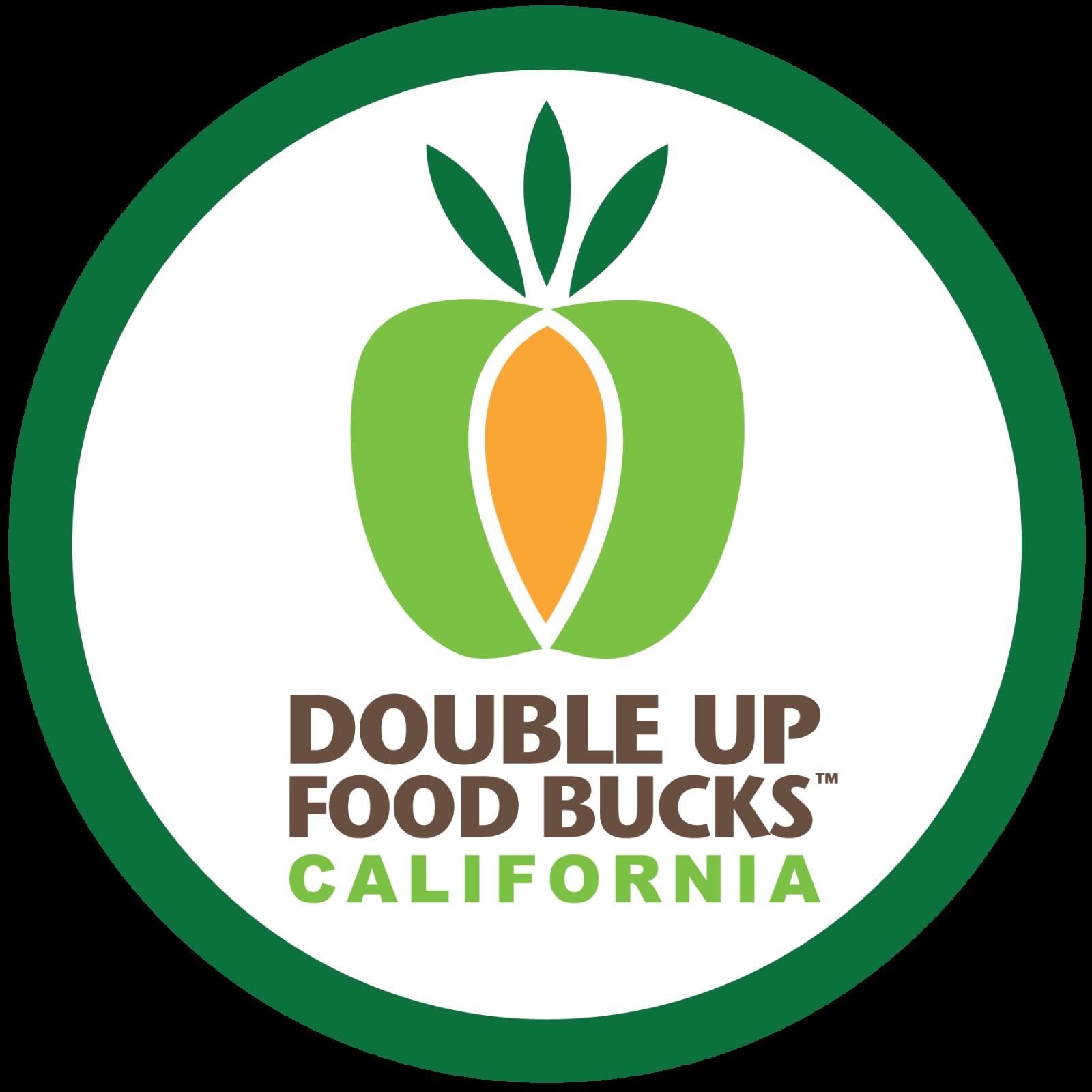 Double Up Food Bucks California logo