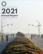 SPUR 2021 Annual Report cover