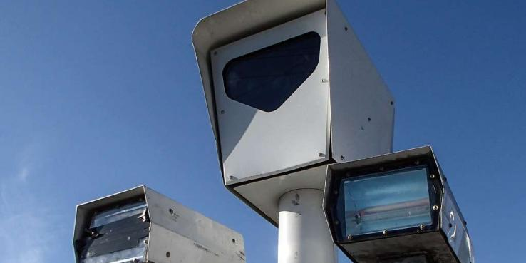Automated speed enforcement camera