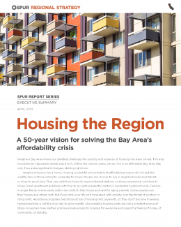Housing the Region report cover