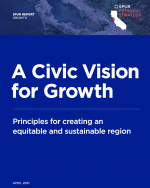 A Civic Vision for Growth Report Cover